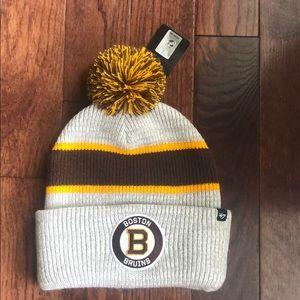 Boston Bruins knit hat NHL